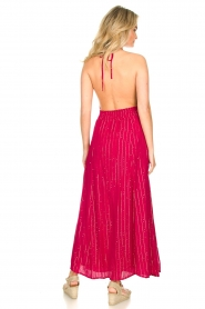 Sundress |  Lurex sequin dress Lauriana | pink  | Picture 6