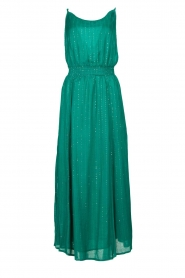Sundress |  Lurex sequin dress Lauriana | green  | Picture 1