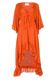 Sundress    Maxi dress with sequins Juliana   orange    Picture 1