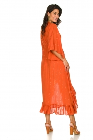 Sundress    Maxi dress with sequins Juliana   orange    Picture 6