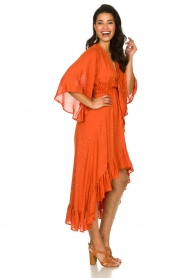 Sundress    Maxi dress with sequins Juliana   orange    Picture 5