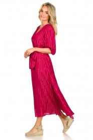Sundress | Kaftan jurk Halo | roze  | Afbeelding 4