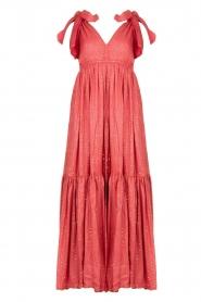 Sundress |  Sequin maxi dress Fanya | pink  | Picture 1
