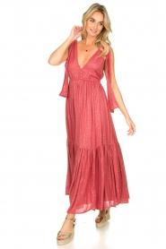 Sundress |  Sequin maxi dress Fanya | pink  | Picture 4