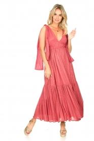 Sundress |  Sequin maxi dress Fanya | pink  | Picture 2