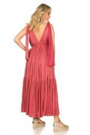 Sundress |  Sequin maxi dress Fanya | pink  | Picture 6