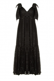 Sundress |  Sequin maxi dress Fanya | black  | Picture 1