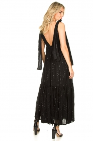 Sundress |  Sequin maxi dress Fanya | black  | Picture 5