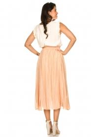Sundress |  Lurex maxi skirt Lulu | nude  | Picture 6