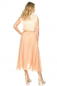 Sundress |  Lurex maxi skirt Lulu | nude  | Picture 7