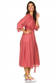 Sundress |  Maxi dress Eliza | pink  | Picture 5
