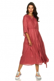 Sundress |  Maxi dress Eliza | pink  | Picture 3