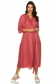 Sundress |  Maxi dress Eliza | pink  | Picture 4