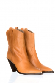 Toral |  Leather boots Triangle | camel  | Picture 3
