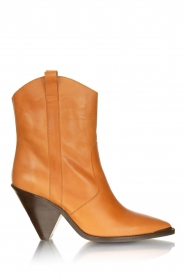 Toral    Leather boots Triangle   camel    Picture 2
