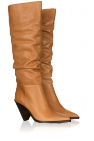 Toral |  Take off boots Lady top | camel   | Picture 3