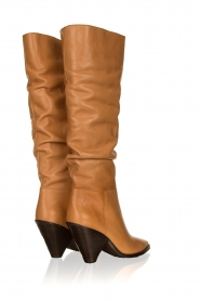 Toral |  Take off boots Lady top | camel   | Picture 4