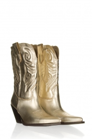 Toral |  Western metallic boots Bambi | gold  | Picture 3