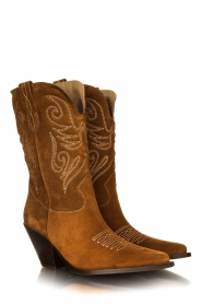 Toral :  Western boots Bambi | brown - img3