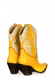 Toral |  Leather cowboy boots Savanah | yellow  | Picture 4