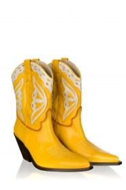 Toral |  Leather cowboy boots Savanah | yellow  | Picture 3