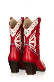Toral |  Leather cowboy boots Savanah | red  | Picture 4