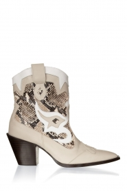Toral | Leather cowboy boots Kidima | natural  | Picture 1