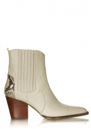 Toral |   Snake printed western boots Kidima | naturel  | Picture 1