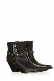 Toral |  Leather ankle boots NYC | black  | Picture 3