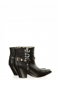 Toral |  Leather ankle boots NYC | black  | Picture 4