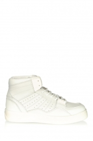 Toral |  High leather sneakers Gesso Lakers | white  | Picture 1