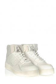 Toral |  High leather sneakers Gesso Lakers | white  | Picture 3