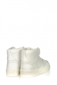 Toral |  High leather sneakers Gesso Lakers | white  | Picture 4