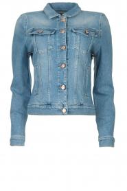 7 For All Mankind |  Short denim jacket Modern trucker | blue  | Picture 1