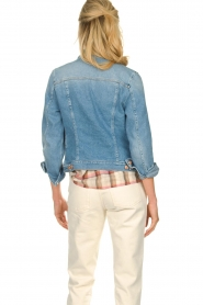 7 For All Mankind |  Short denim jacket Modern trucker | blue  | Picture 6