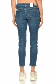 7 For All Mankind |  Ripped jeans Pyper crop | dark blue  | Picture 6
