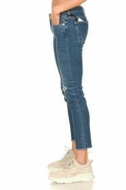 7 For All Mankind |  Ripped jeans Pyper crop | dark blue  | Picture 4