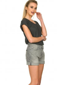 7 For All Mankind | Boy shorts Tania | grey  | Picture 5