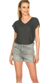 7 For All Mankind | Boy shorts Tania | grey  | Picture 2