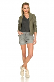 7 For All Mankind | Boy shorts Tania | grey  | Picture 3