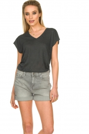 7 For All Mankind | Boy shorts Tania | grey  | Picture 4
