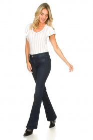 Lois Jeans :  L34 Flared jeans Rave | blue - img3