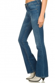 Lois Jeans |  L32 Flared high waist jeans Raval | blue  | Picture 4