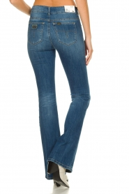 Lois Jeans |  L32 Flared high waist jeans Raval | blue  | Picture 5
