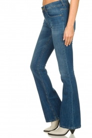 Lois Jeans |  L34 Flared high waisted jeans Raval | blue   | Picture 4