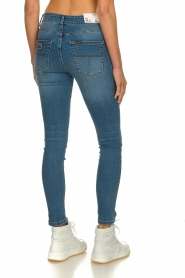 Lois Jeans |  High waist cropped skinny Celia | blue  | Picture 4