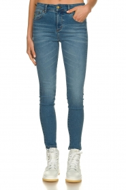 Lois Jeans |  High waist cropped skinny Celia | blue  | Picture 3