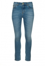 Lois Jeans |  High waist cropped skinny Celia | blue  | Picture 1