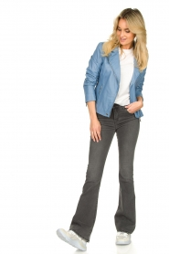 Lois Jeans |  L34 Flared jeans Raval | grey  | Picture 3
