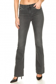 Lois Jeans |  L34 Flared jeans Raval | grey  | Picture 4